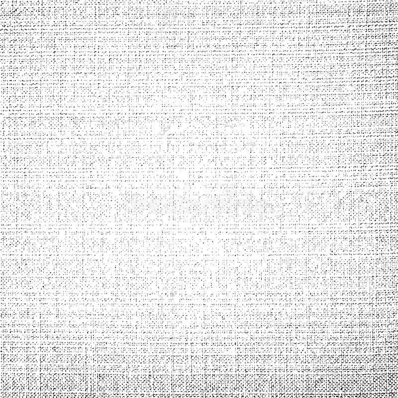 Fondo del vector de la textura de la lona de la tela libre illustration