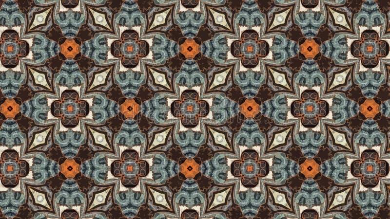 Fondo del vector del modelo del batik libre illustration