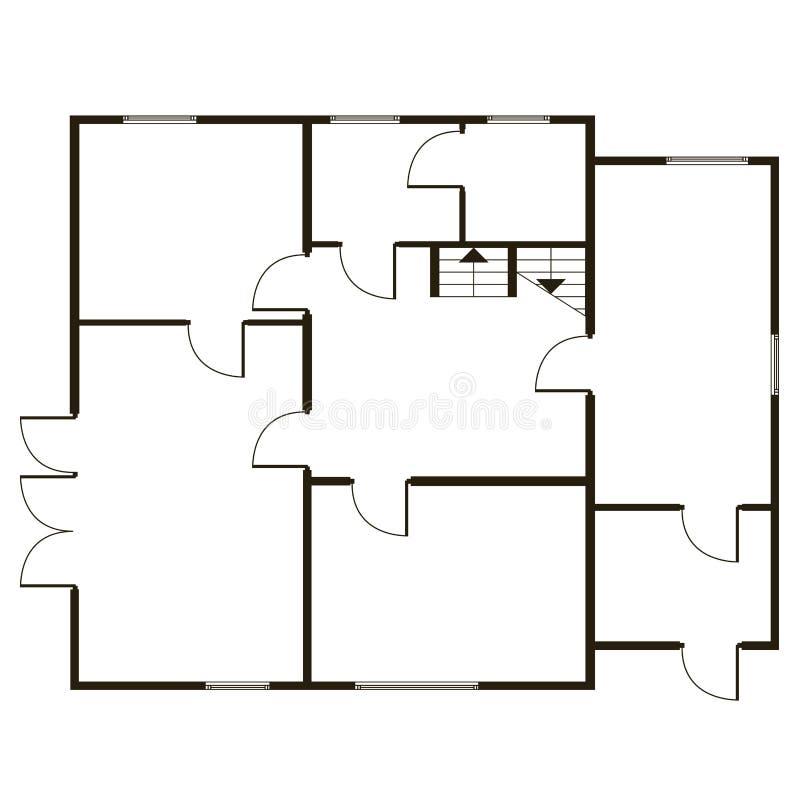 fondo del vector del modelo Plan arquitectónico constructivo libre illustration