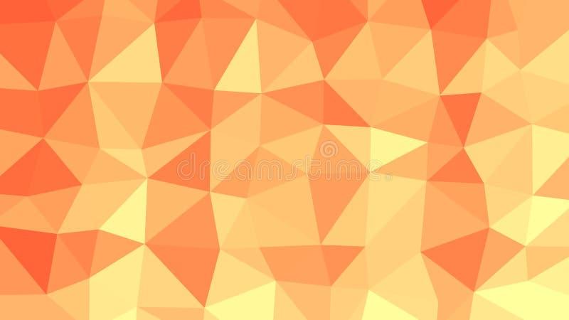 Fondo del vector del modelo del triángulo para su PC libre illustration