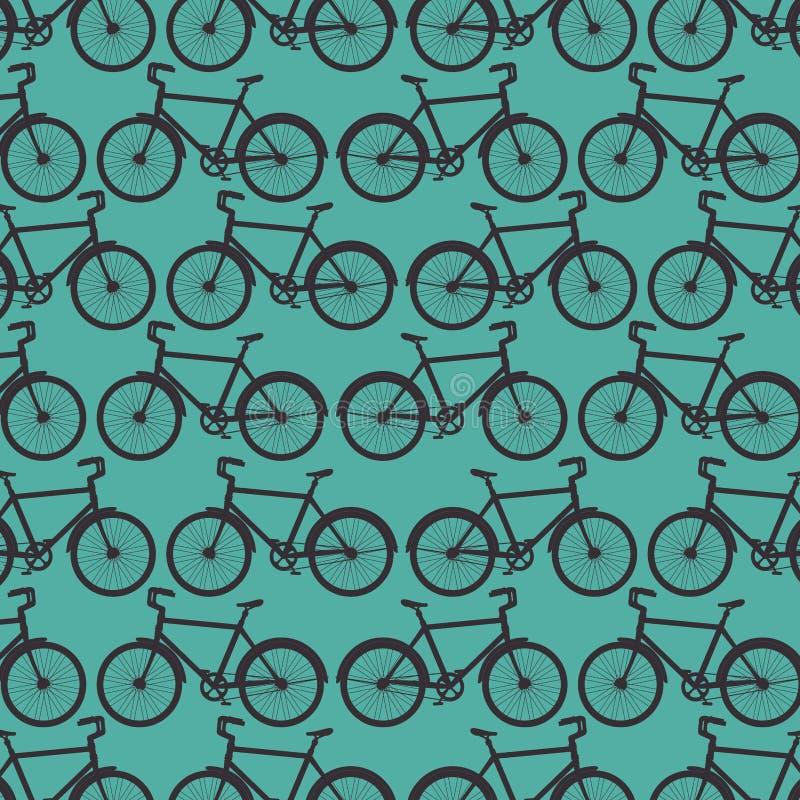 Fondo del veicolo di trasporto della bicicletta di sport illustrazione vettoriale