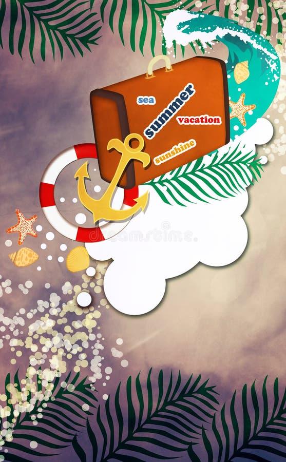 Download Fondo del viaje stock de ilustración. Ilustración de extracto - 41919261