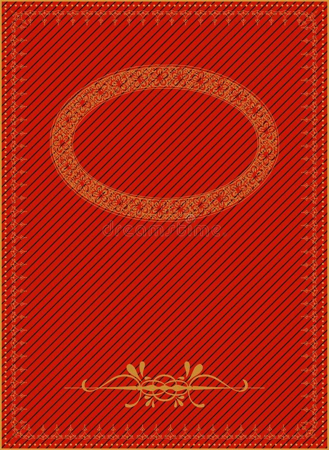 Fondo del vintage con los elementos de oro. libre illustration