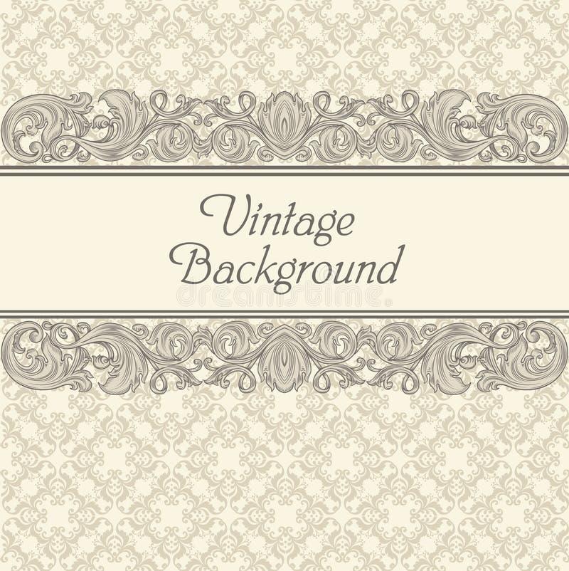 Fondo del vintage ilustración del vector
