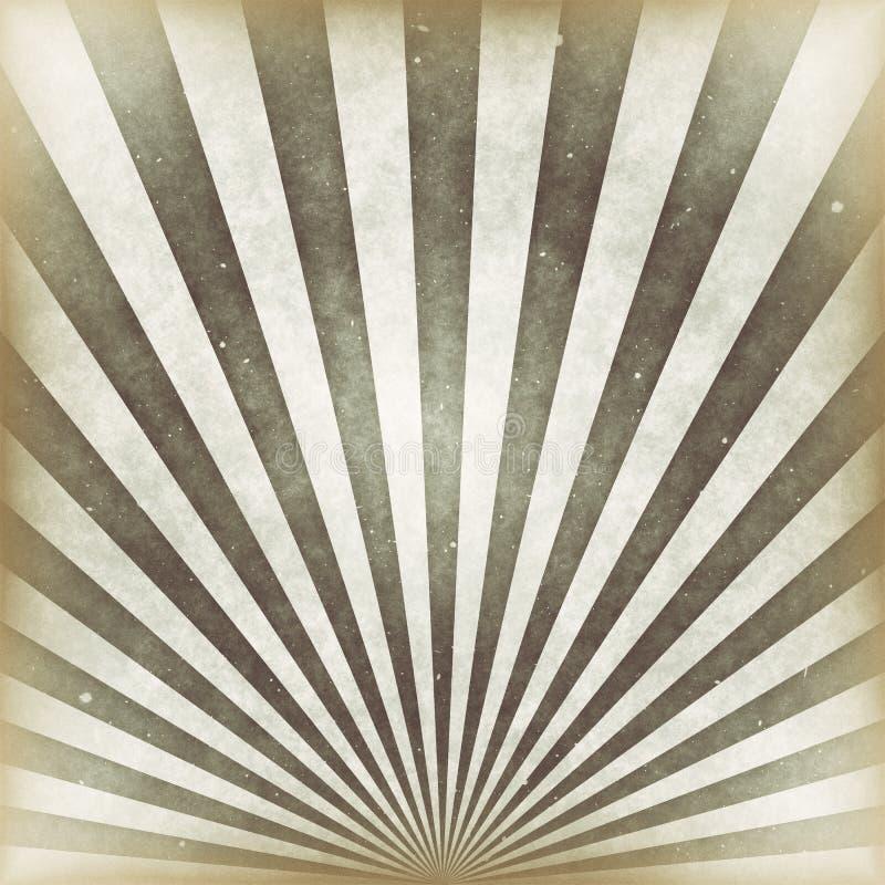 Fondo del vintage de los rayos de sol libre illustration