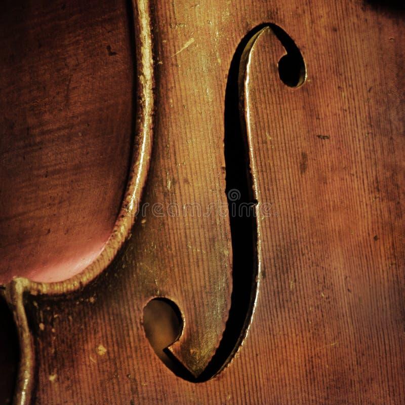 Fondo del violoncelo del vintage foto de archivo libre de regalías