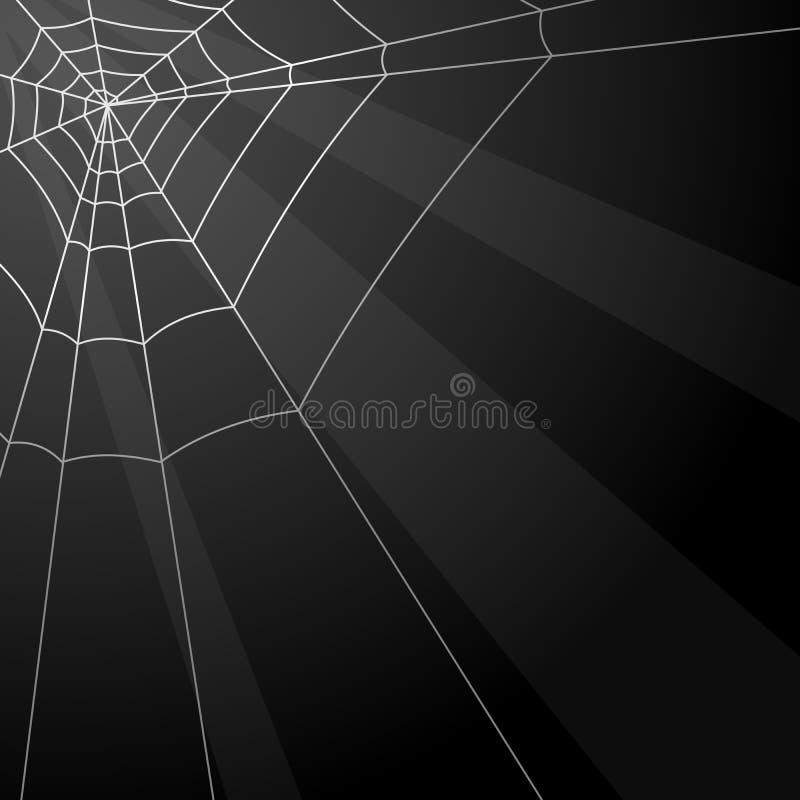 Fondo del Web de araña libre illustration