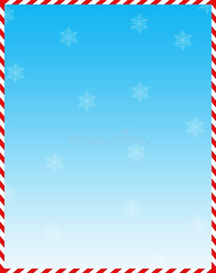 Fondo del Web del bastón de caramelo stock de ilustración