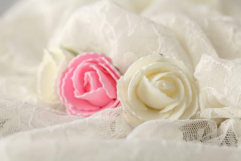 Fondo delicato per le partecipazioni di nozze e gli inviti fotografia stock libera da diritti