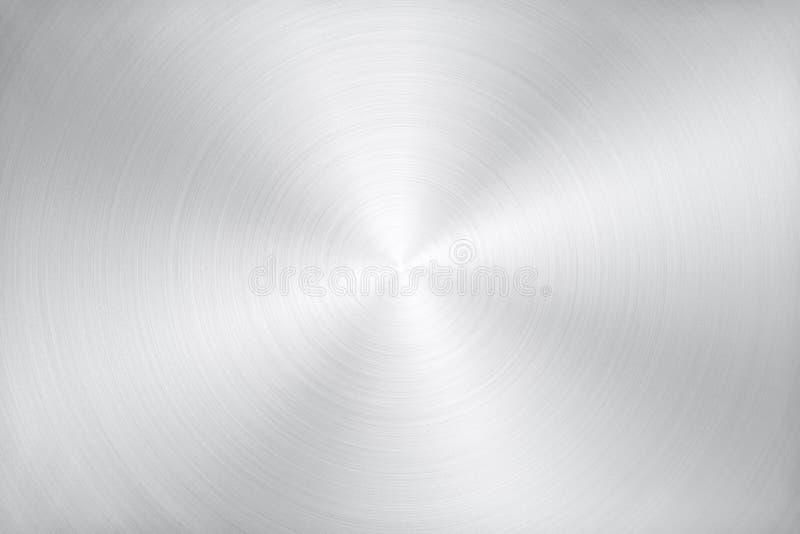 Fondo dell'acciaio inossidabile di struttura del metallo illustrazione vettoriale
