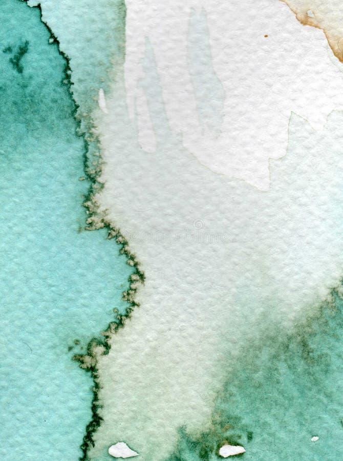 Fondo dell'acquerello illustrazione vettoriale