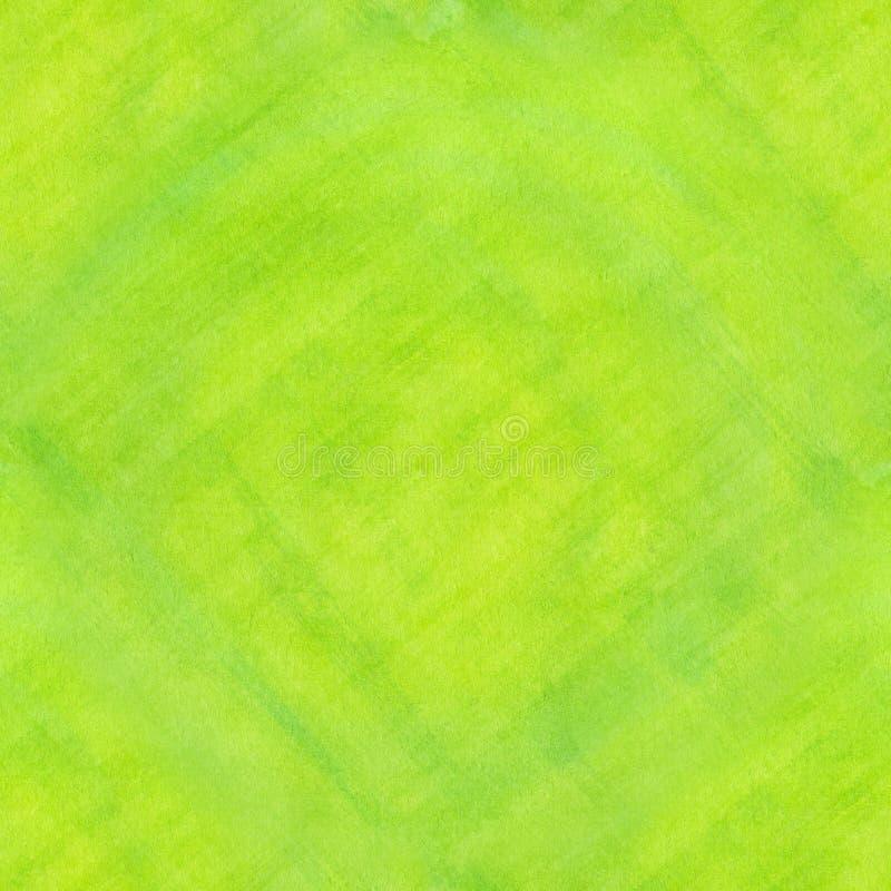 Fondo dell'acquerello allineato verde astratto senza cuciture royalty illustrazione gratis
