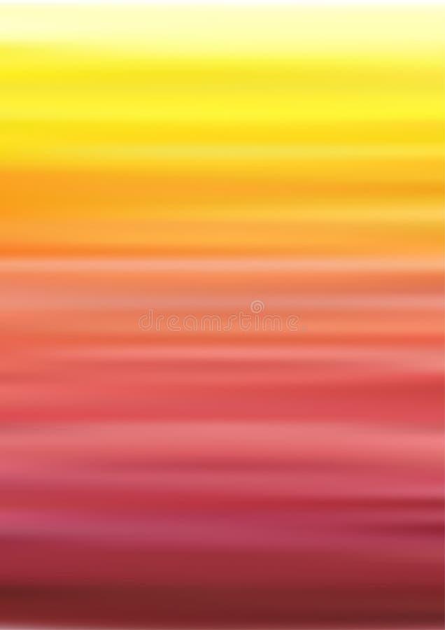 Fondo dell'arcobaleno con i colori di pendenza illustrazione vettoriale