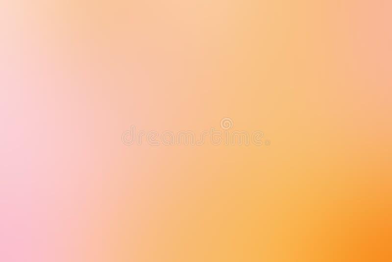 Fondo dell'estratto della luce morbida di estate con bokeh Verde e yel fotografia stock