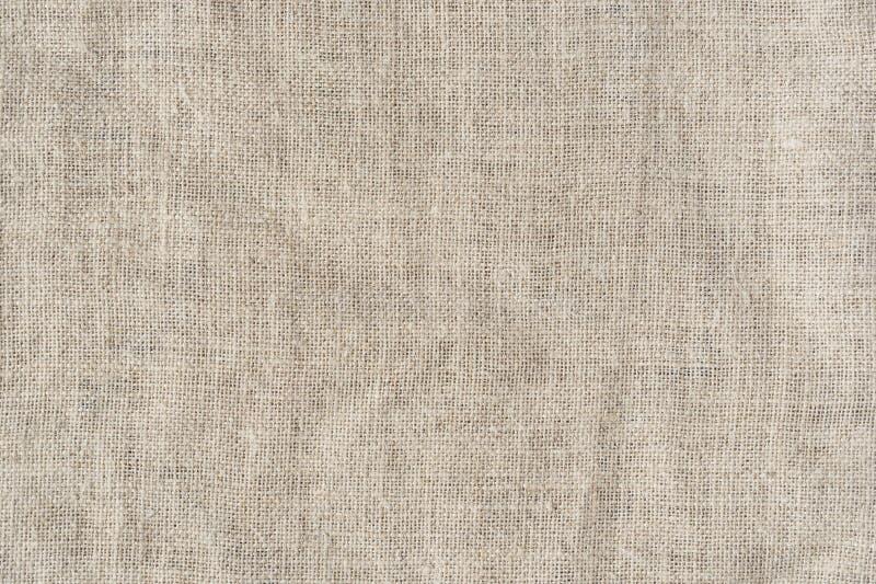 Fondo dell'estratto di struttura della iuta della tela da imballaggio fotografie stock