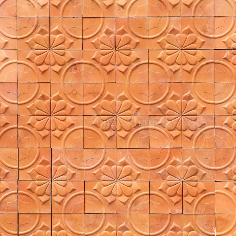 Download Fondo Dell'estratto Di Terracotta Della Parete Di Brown Fotografia Stock - Immagine di medioevale, ornamentale: 56878020