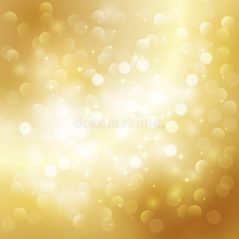 Fondo dell'oro royalty illustrazione gratis