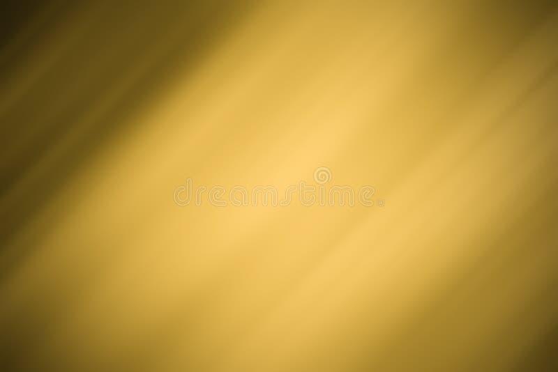Fondo dell'oro, fondo nero, immagine di sfondo con la diagonale, il nero leggero ed oro immagini stock