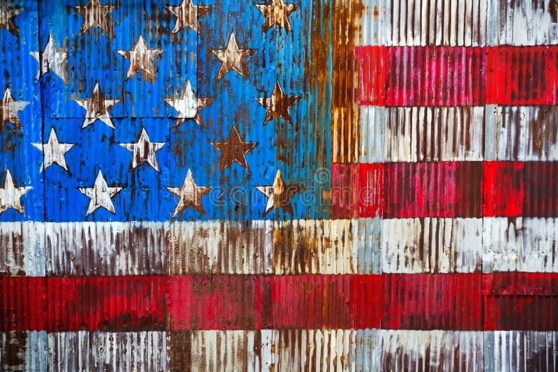Fondo della bandiera americana fotografia stock