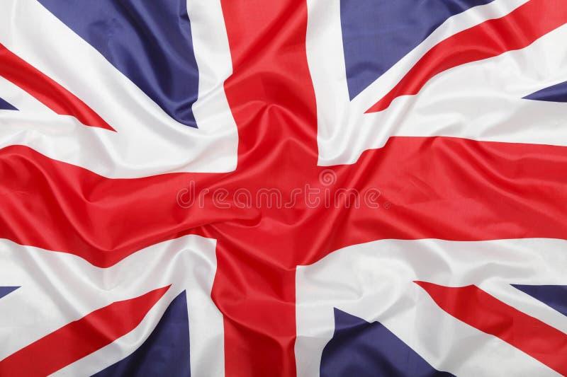 Fondo della bandiera di Britannici fotografia stock libera da diritti