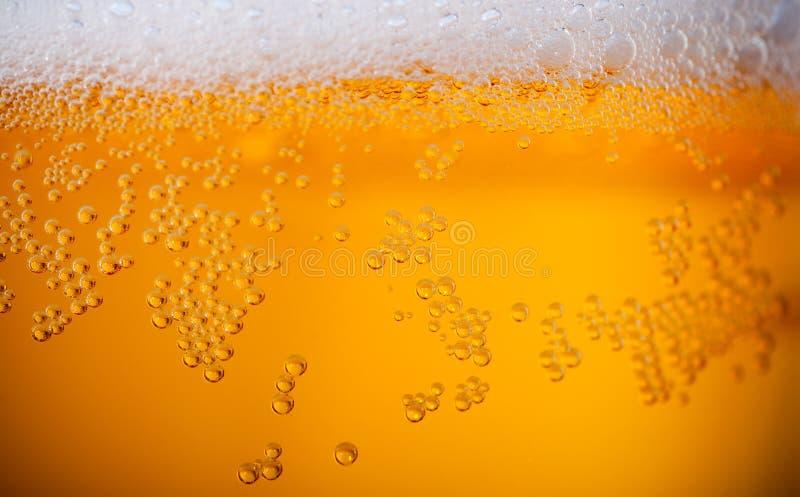 Fondo della birra leggera fotografie stock