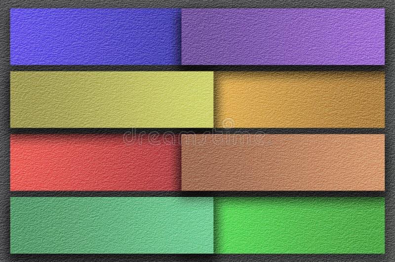 Fondo della carta del notpad di colore di lerciume di arte illustrazione vettoriale