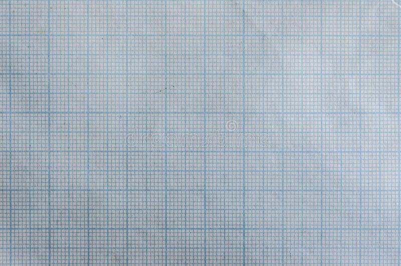 Fondo della carta di griglia di millimetro fotografia stock libera da diritti