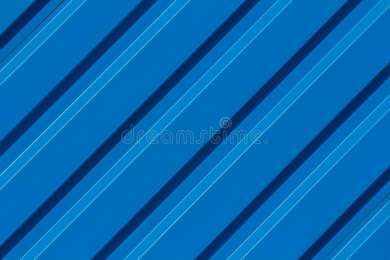 Fondo della diagonale della banda blu illustrazione di stock