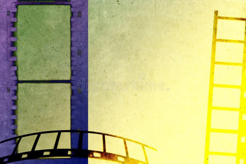 Fondo della filmina di lerciume illustrazione vettoriale