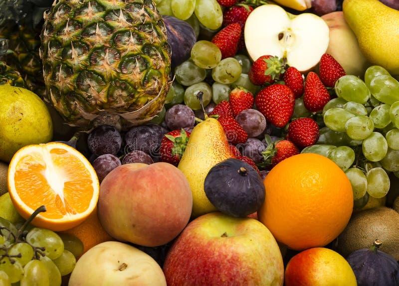 Fondo della frutta fotografia stock libera da diritti