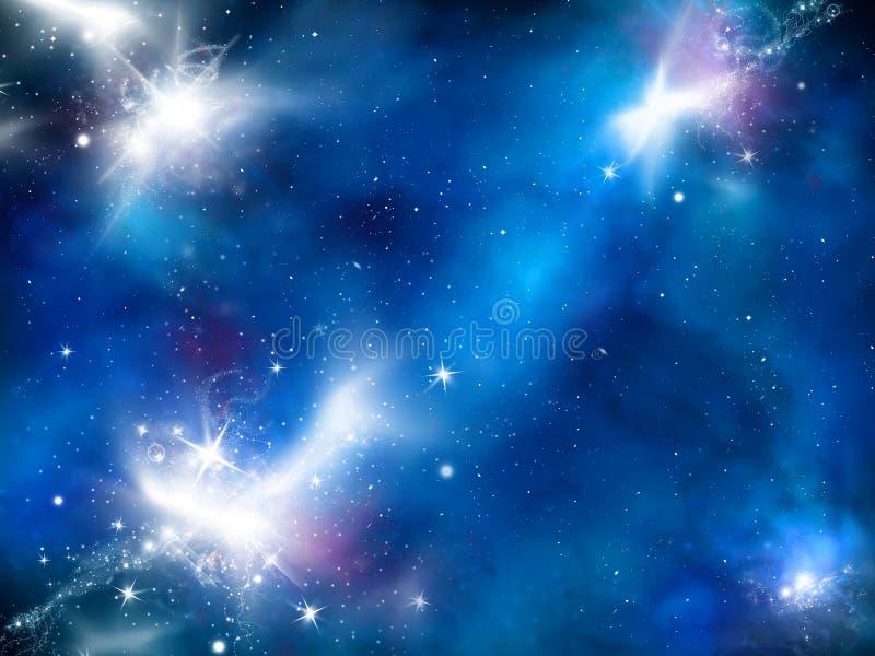 Fondo della galassia illustrazione vettoriale