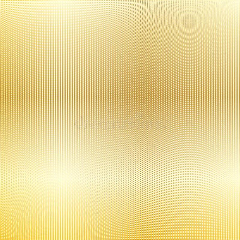 Fondo della maglia dell'oro royalty illustrazione gratis