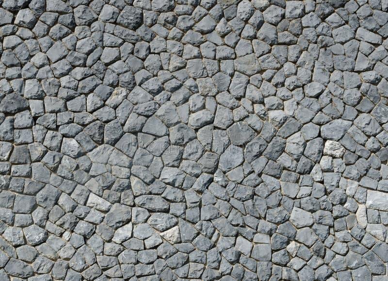 Fondo della natura di struttura grigia della parete di pietra immagine stock