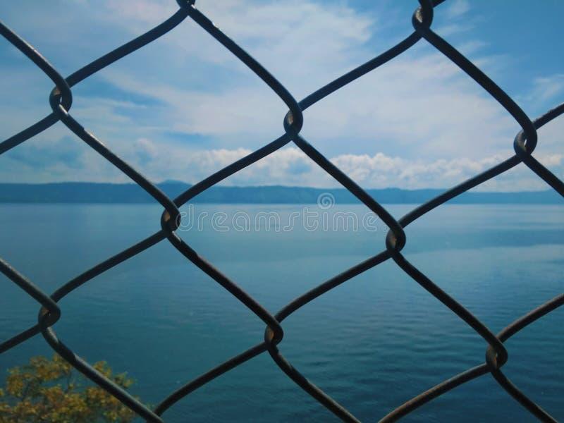 Fondo della natura di Toba del lago fotografie stock libere da diritti