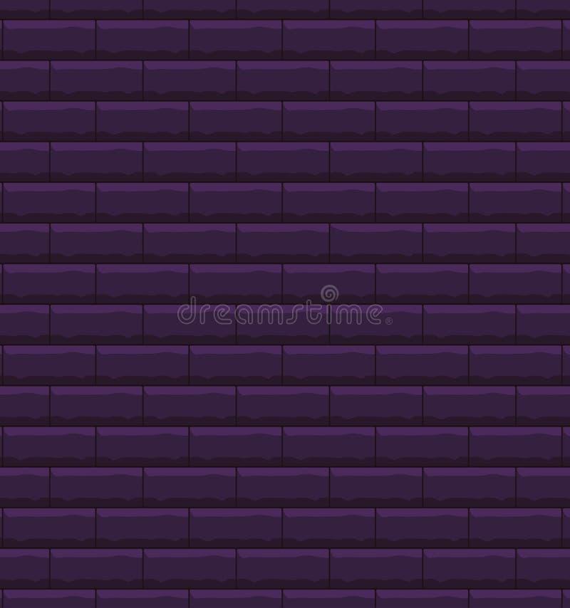 Fondo della parete di mattoni, illustrazione vettoriale