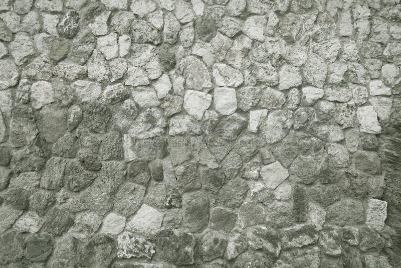 Fondo della parete di pietra del mosaico fotografia stock