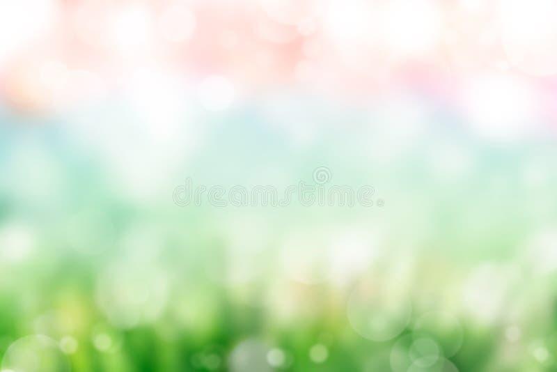 Fondo della sfuocatura della primavera immagini stock libere da diritti