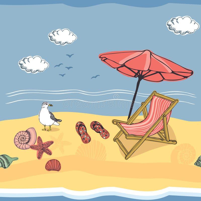 Fondo della spiaggia