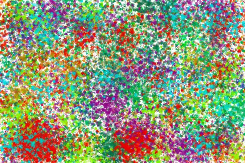 Fondo della spruzzata di colore immagini stock libere da diritti