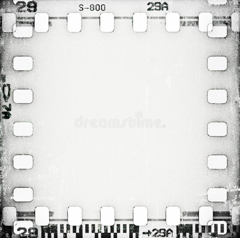 Fondo della striscia di pellicola graffiato lerciume illustrazione vettoriale