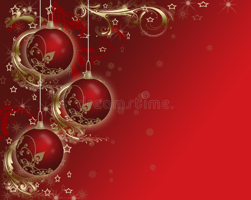 Favoloso Fondo Delle Cartoline Di Natale. Illustrazione di Stock  TR02