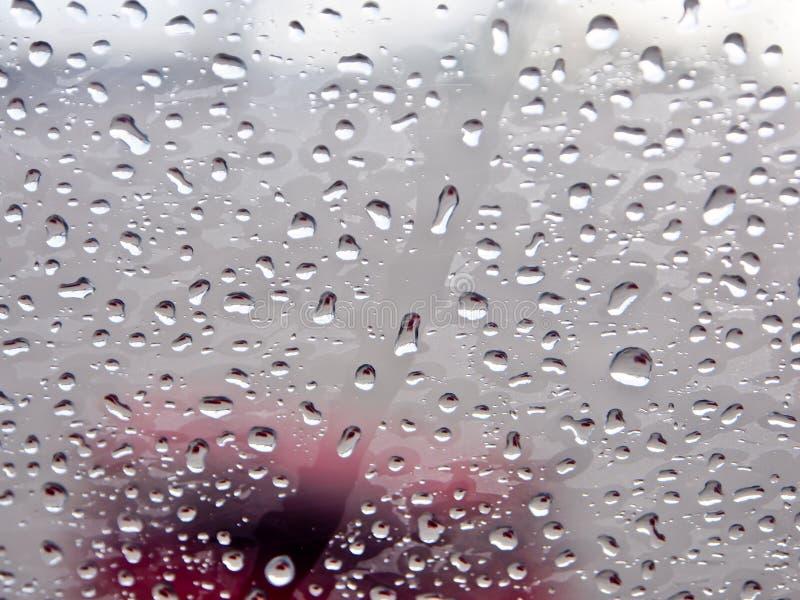 Fondo delle gocce di pioggia fotografie stock