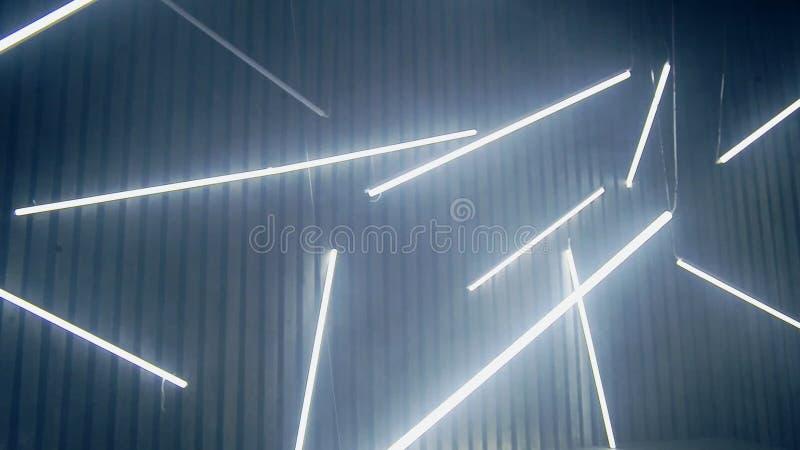Fondo delle lampade al neon lustro luminescente delle lampade