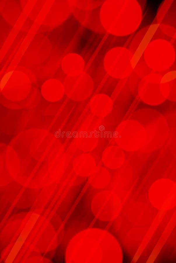 Fondo delle luci rosse, fondo rosso illustrazione di stock