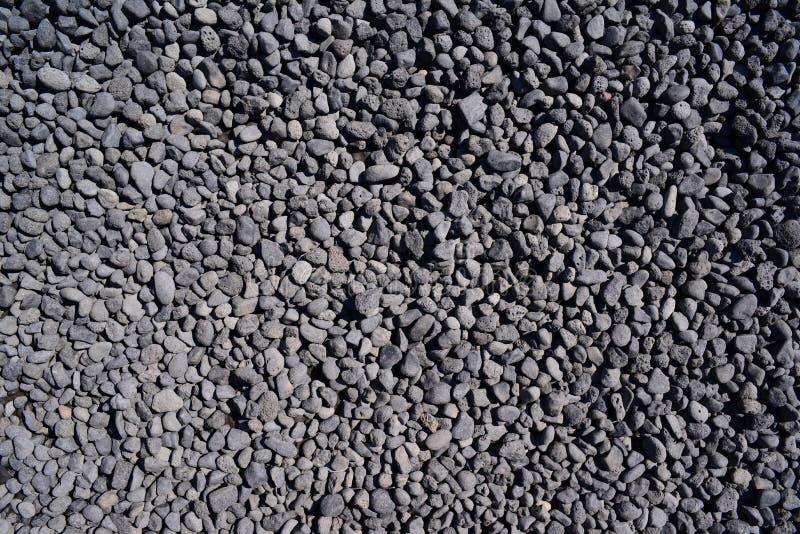 Fondo delle pietre vulcaniche sul vulcano immagine stock libera da diritti