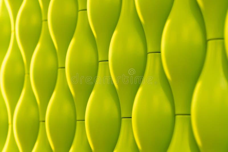Fondo delle tessere ovali Pavimento di mosaico nello stile naturale illustrazione vettoriale