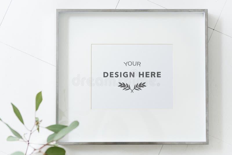 Fondo dello spazio del modello della cornice fotografia stock