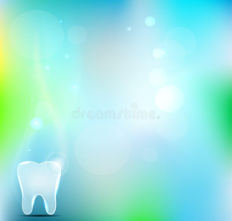 Fondo dental ilustración del vector