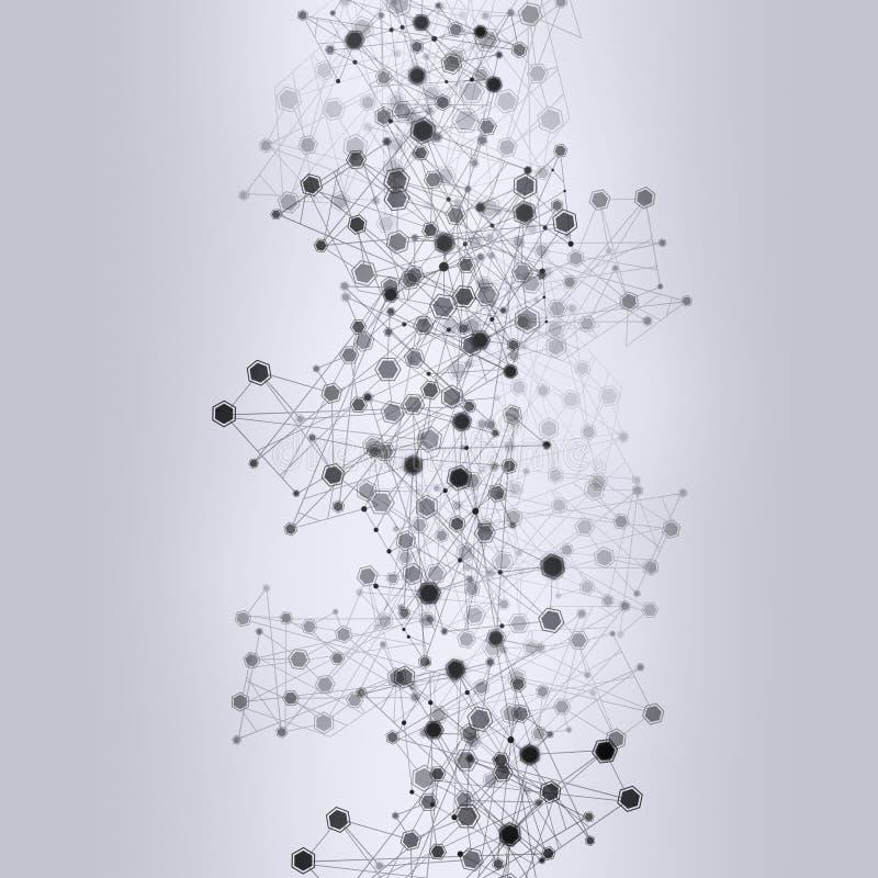 Fondo desaturato della rete illustrazione vettoriale