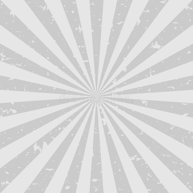 Fondo descolorado retro del grunge fondo gris oscuro de la explosión de color Ilustración del vector stock de ilustración